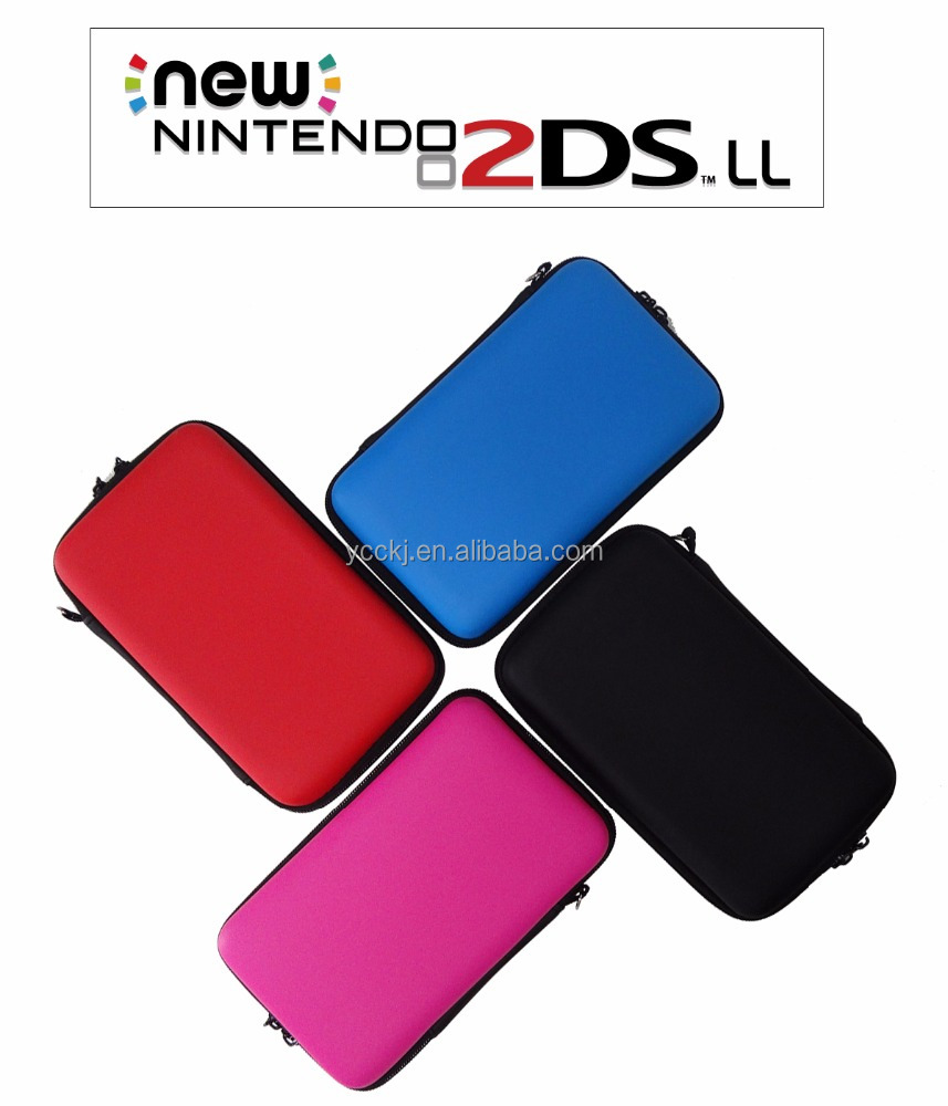EVA colorful case carrying bag for Nintendo new 2DS LL/XL game console