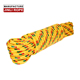 multifilament Wholesale colorful climbing pp braided rope