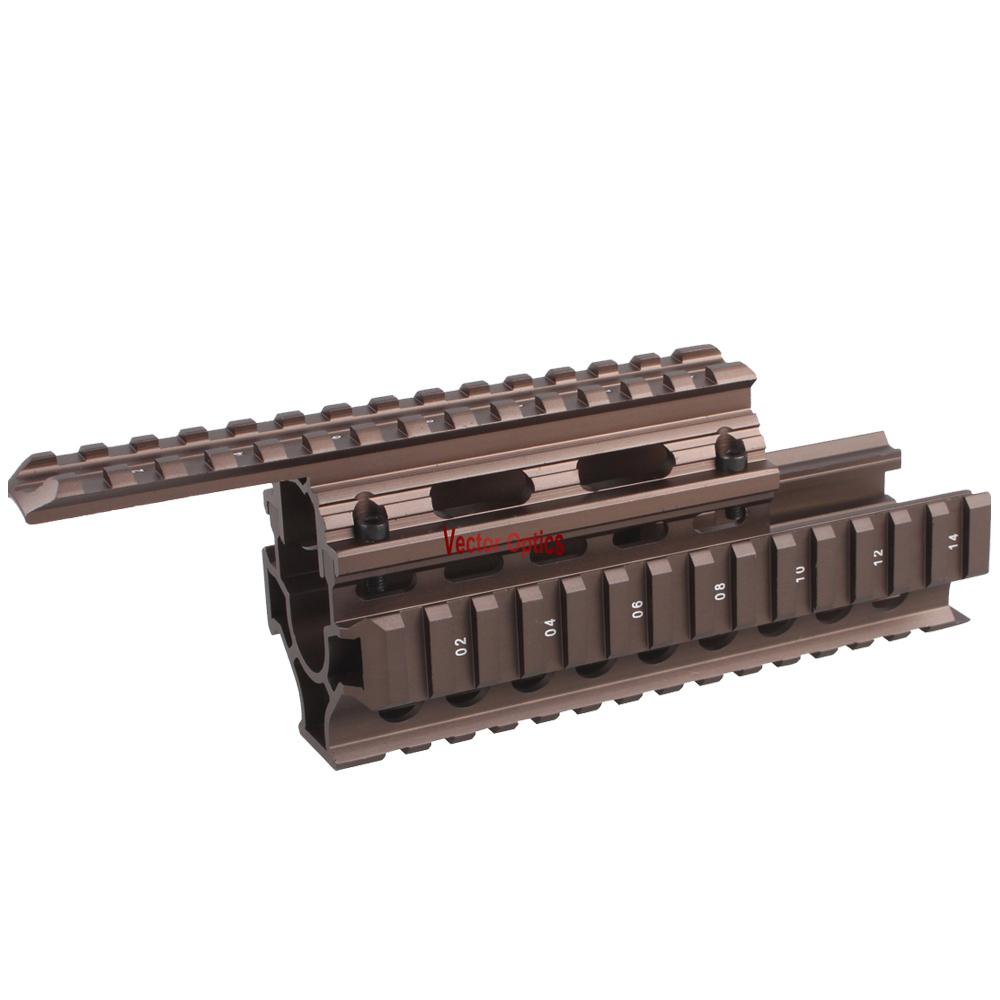 Vector Optics Burnt Bronze Golden Tactical AK47 Rail with AK47 Mount for AK 47 AK47 AK-47 фото