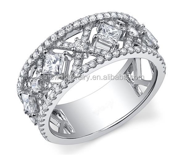 New Arrival Latest Design Diamond Rings For Boys