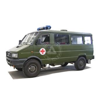 This 4WD Ambulance Camper is Insane | 4x4 camper van