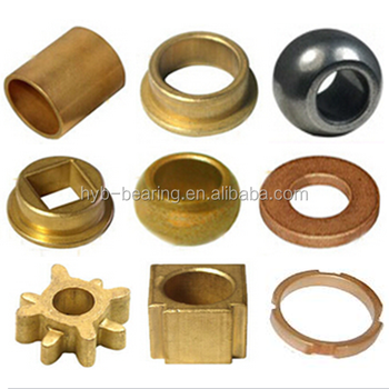 Phosphor Bronze Bearings Sintered Bronze Bearing Bush Fan