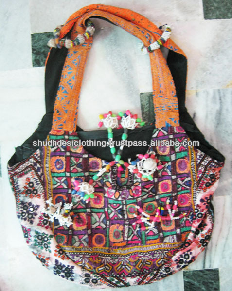 5feae05d75 Vintage Banjara Bag Hobo Sling Tote Ethnic Tribal Gypsy Bags India ...