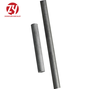 factory high quality virgin material YG10X solid tungsten cemented solid carbide rods with holes