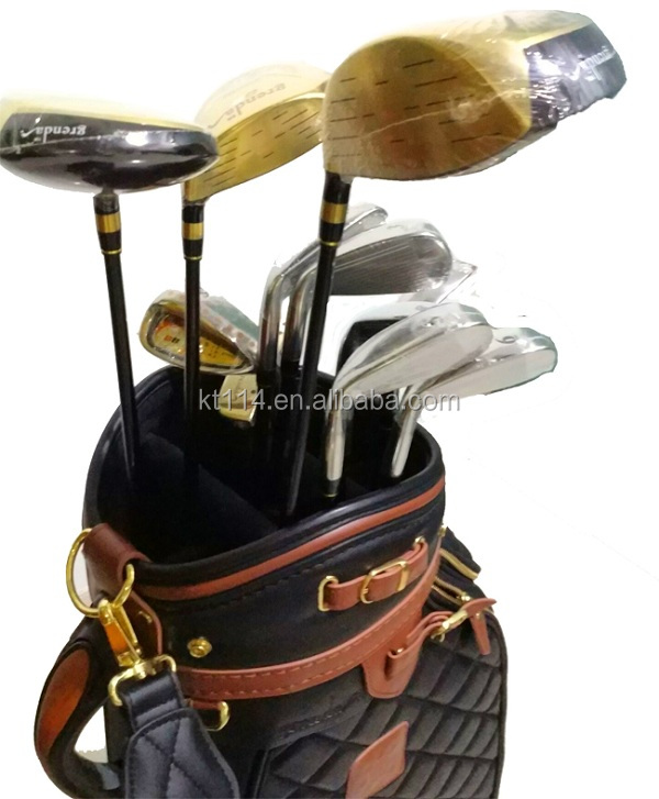 Nuovo Design Cinese di Arte Titanium Oro Golf Club completo Set