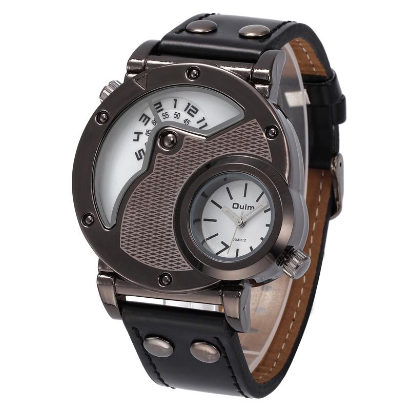 OULM Reloj de Pulsera de Cuarzo Militar Ruso para Hombre