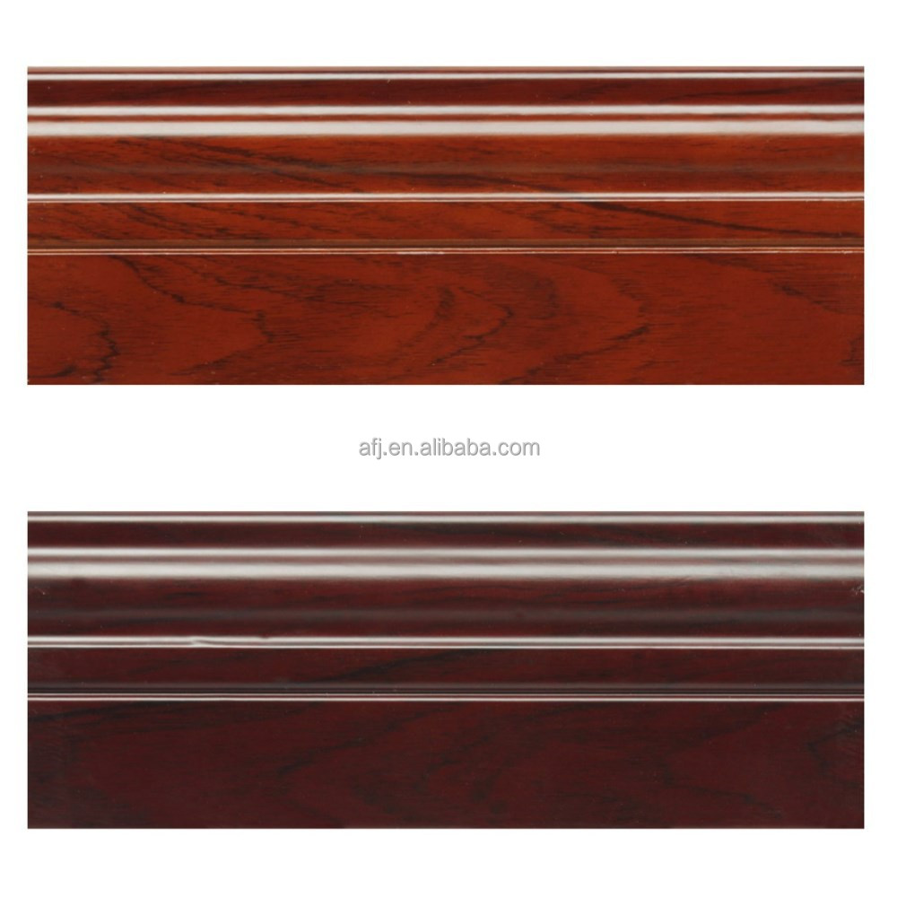 home decoration wood wall skirting