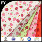 Factory high quality digital strawberry print fabric