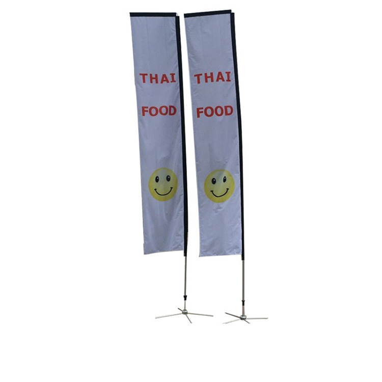 2018 New advertising teardrop backpack banner flag