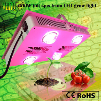 vanq new products flowering and vege switch 600w led grow. Black Bedroom Furniture Sets. Home Design Ideas