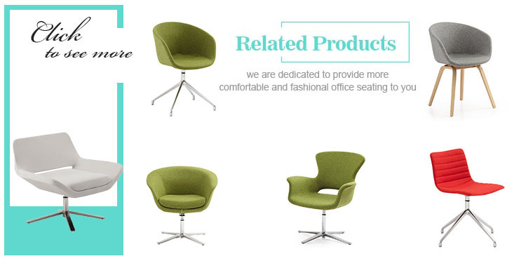Elegant Shaped Leisure Chair India/Circle Spinning Lounge Chair Chair For  Common Area