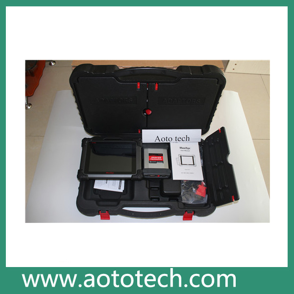 professional universal auto diagnostic ecu programming tool autel maxisys with J2534 interface auto diagnostic tool for all cars