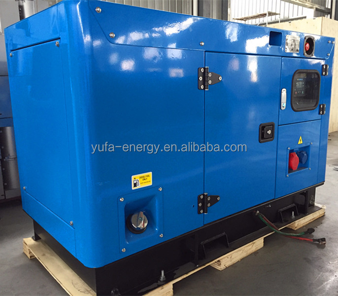 YUFA 10KW(12.5KVA) Diesel Genrator set silent generator soundproof generator sets powered by Yanma