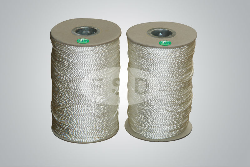 PTFE coated sealing and insulating fiberglass sewing thread string sewing thread