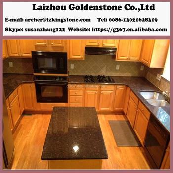 Tan Brown Granite Countertop Chinese Granite Slab Countertops