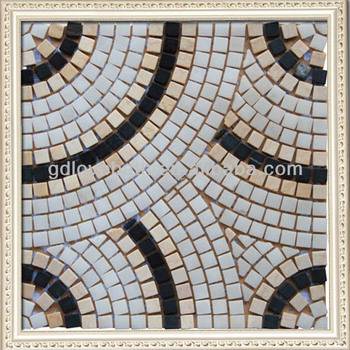 Latest Design Decoration Wall Floor Tile Classic Marble Mosaic