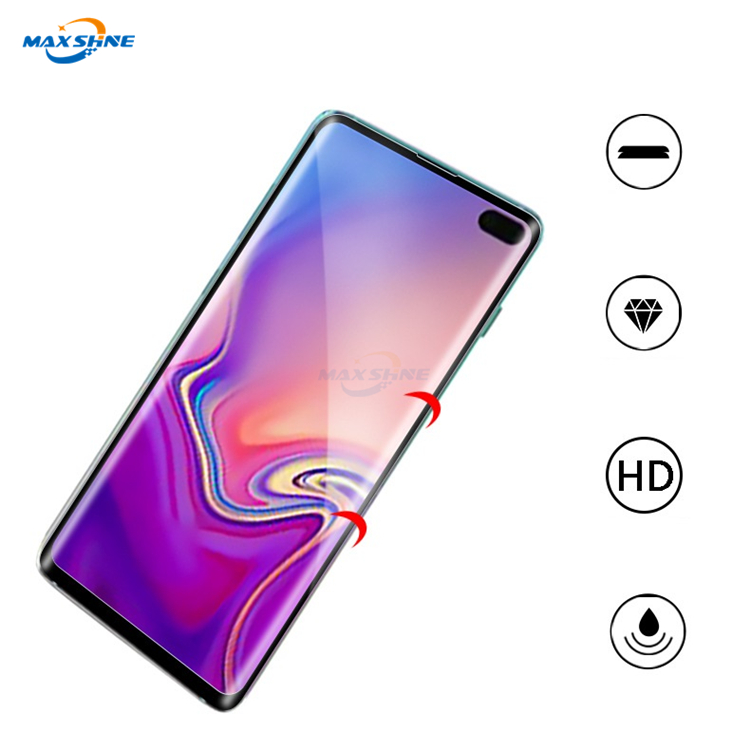 Maxshine New Arrival Temper Glass Phone Screen Protector Glass For Samsung S10 S10E S10 Plus