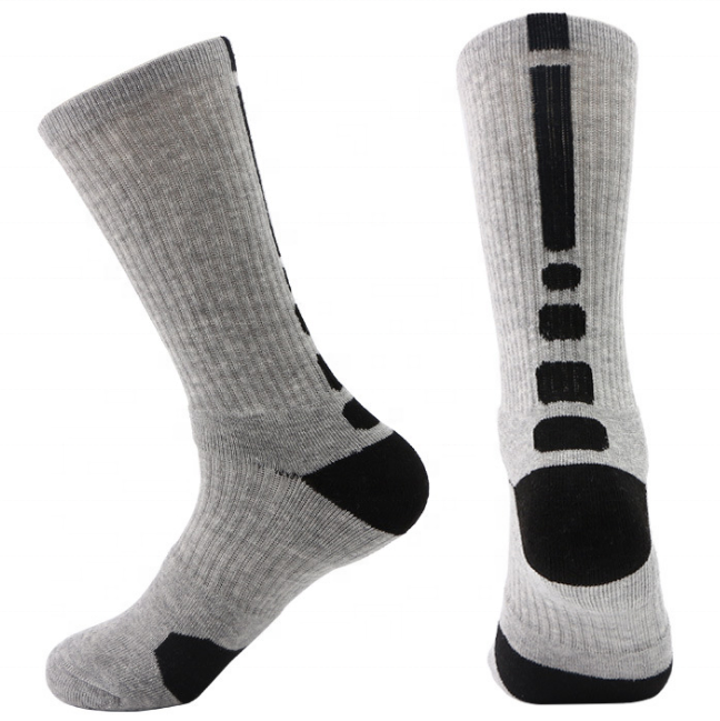 Man popular fashion Basketball trend Sport Socks Crew Socks socks long socks