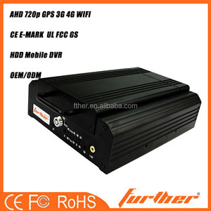 4 Channels 720P AHD High Definition Hybrid Hard Disk Mobile NVR POE 12V user manual fhd 720P car camera dvr video recorder