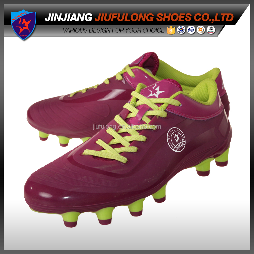New Style Men Shoe American Football Shoe Type Custom Flat Sole Indoor Soccer Shoe
