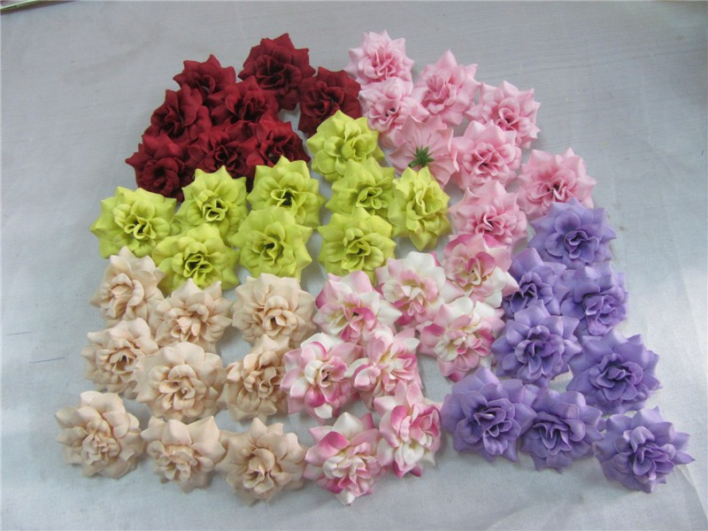 Artificial Flowers In Decorative Pots New Model Water Lilies Rose ...