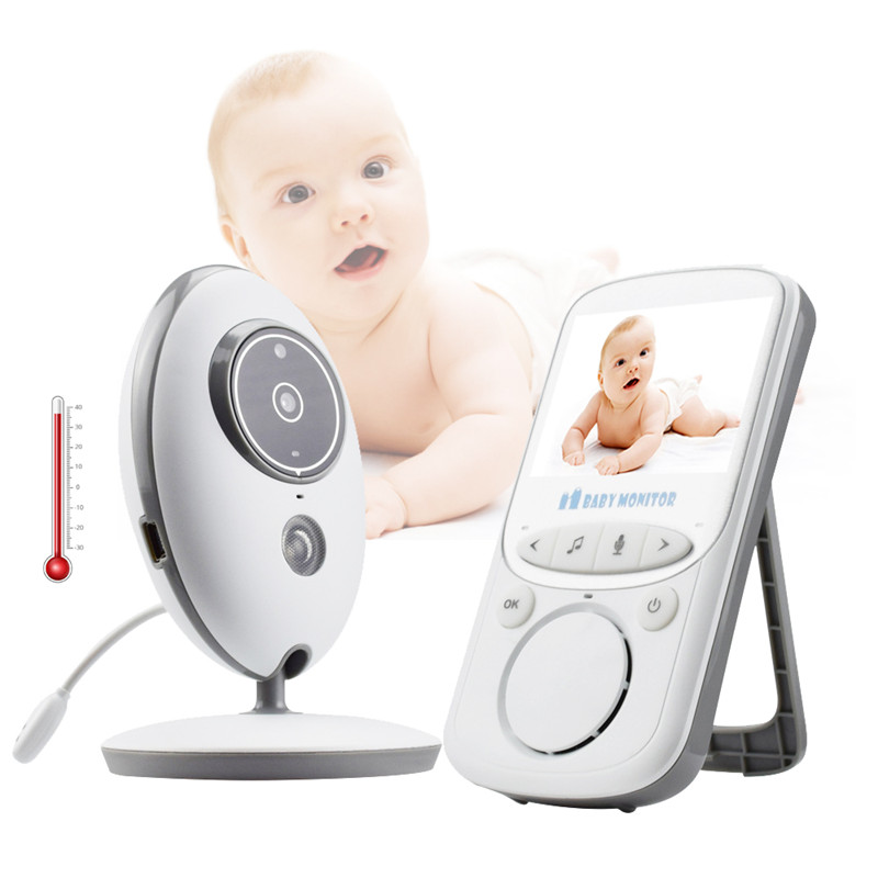 LCD Screen Two-Way Talk Lullaby Baby Monitor VB605 Digital Wireless Babyphone Camera