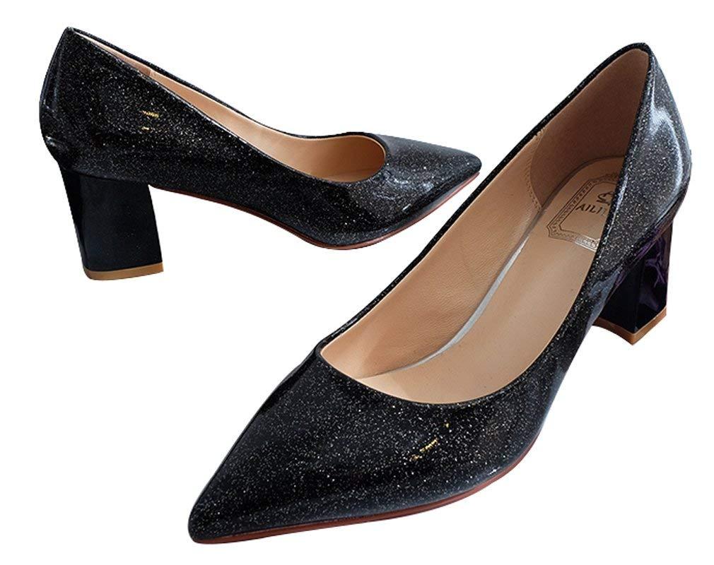 Wedding Shoes Bridal Shoes Bling Princess Shoes Black
