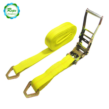 China Cheap Price OEM and ODM ratchet Tie Down Chain strap lashing cargo belt