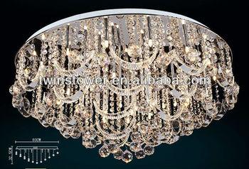 Uitgelezene Moderne Nieuwe Led Kristal Plafondlamp Kroonluchter Licht - Buy XX-42