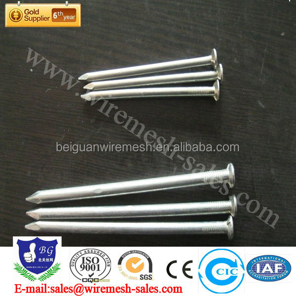 Common round wire iron nail (many years old factory)