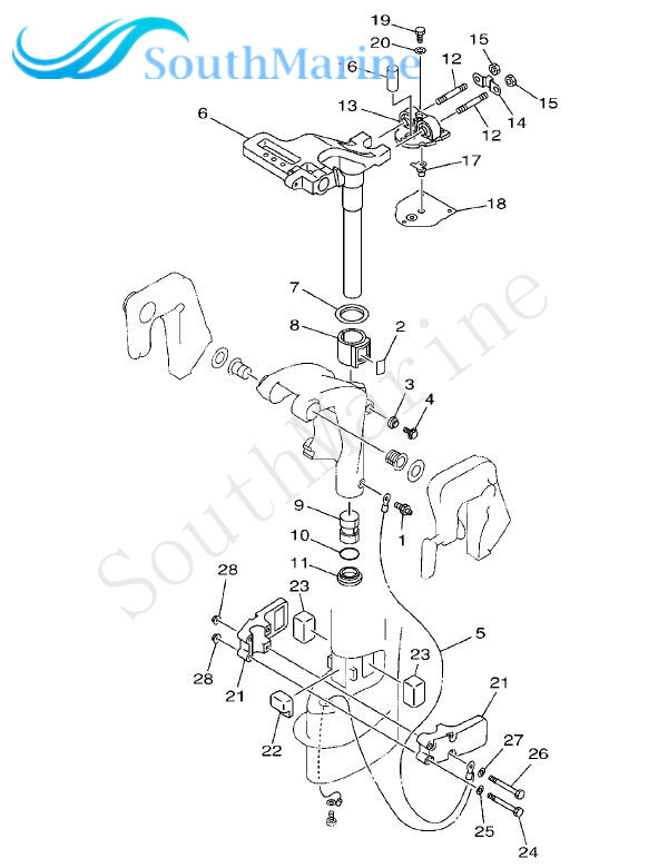 Detail Feedback Questions About Outboard Engine 63v 45114 A1 Upper