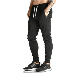 european style fashion pants New 2018 Gasp/Golds Gym Fitness Long Pants Men Outdoor Casual Sweatpants Baggy Jogger Trousers