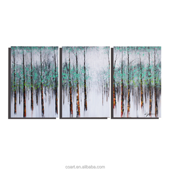 Easy Acrylic Handmade Landscape Art Oil Painting on Canvas