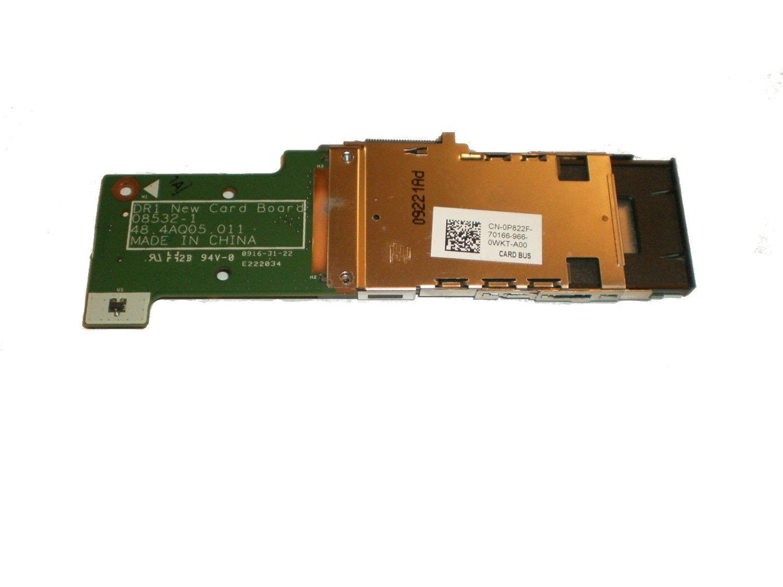 48.4AQ21.011 1546 Media Card Reader Board P//N Dell Inspiron 1545 P822F
