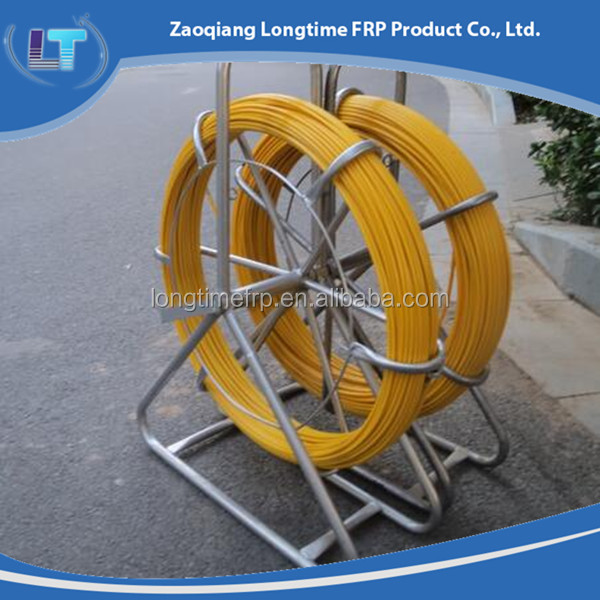 Fiber glass pole, Fiberglass/GRP/FRP rod, China dealer/New-design round Fiberglass Rods/ electric cable duct rod
