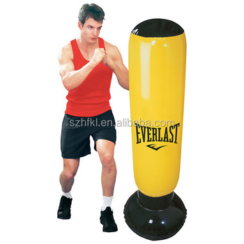 Custom Design Top Quality 72 Inch Inflatable Punching Bag For Ness