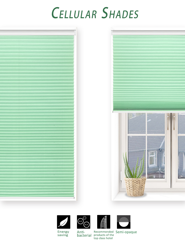 High quality customize window honeycomb blind cellular shade