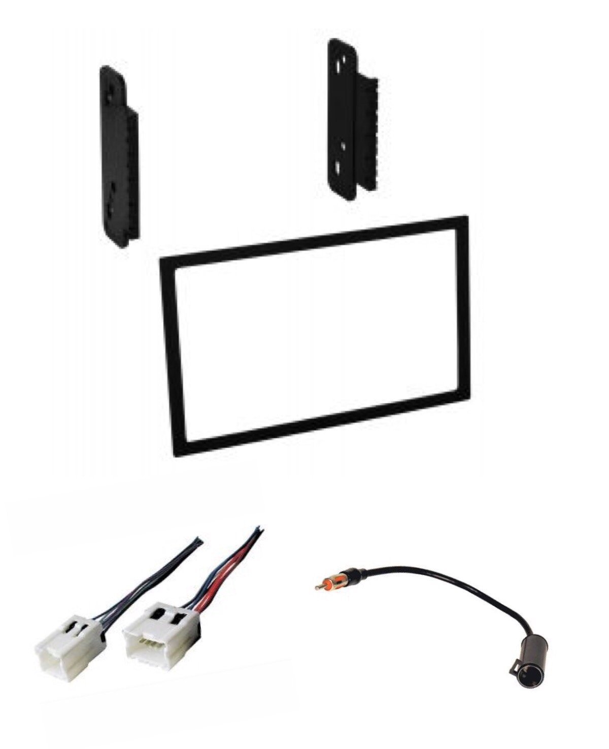 Buy Stereo Dash Kit Wire Harness And Antenna Adapter For Wiring Nissan Frontier Installing A New Double Din