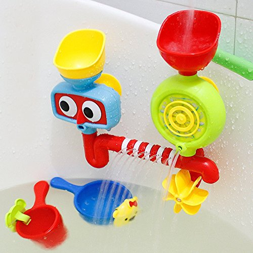 Bath Tub Toy Water Sprinkler System Children Kids Gift Funny Bathing Toys  Waterproof In Tub Baby
