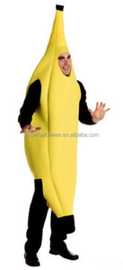 Newest party halloween adult carnival wholesale banana costume AGM4250