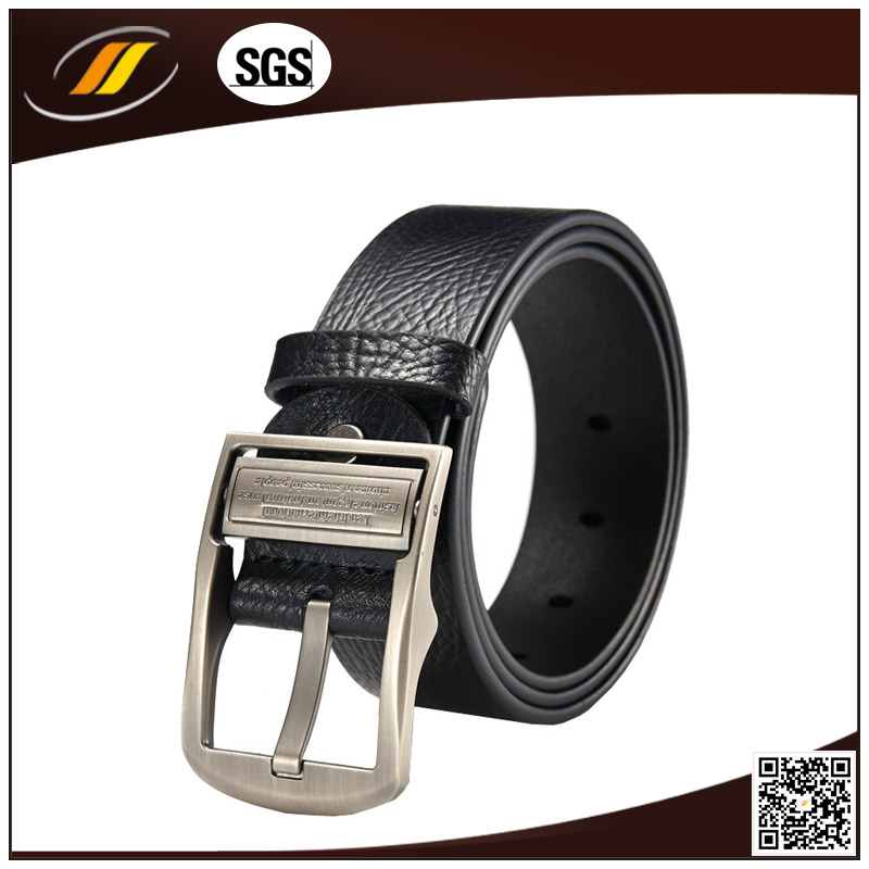 New Design Real Calf Leather Man Belts with Buckle