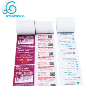 Customized Pre-printed factory supply thermal paper rolls till rolls 80x80 from Greatshine Paper