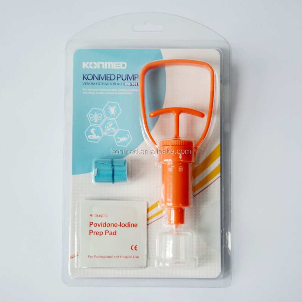 Portable posion remove pump venom extractor for first aid