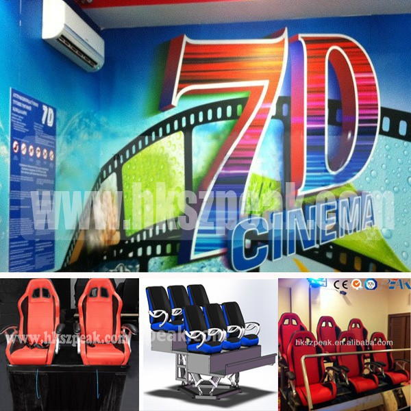 Family center 5D cinema and shopping mall 7D theater