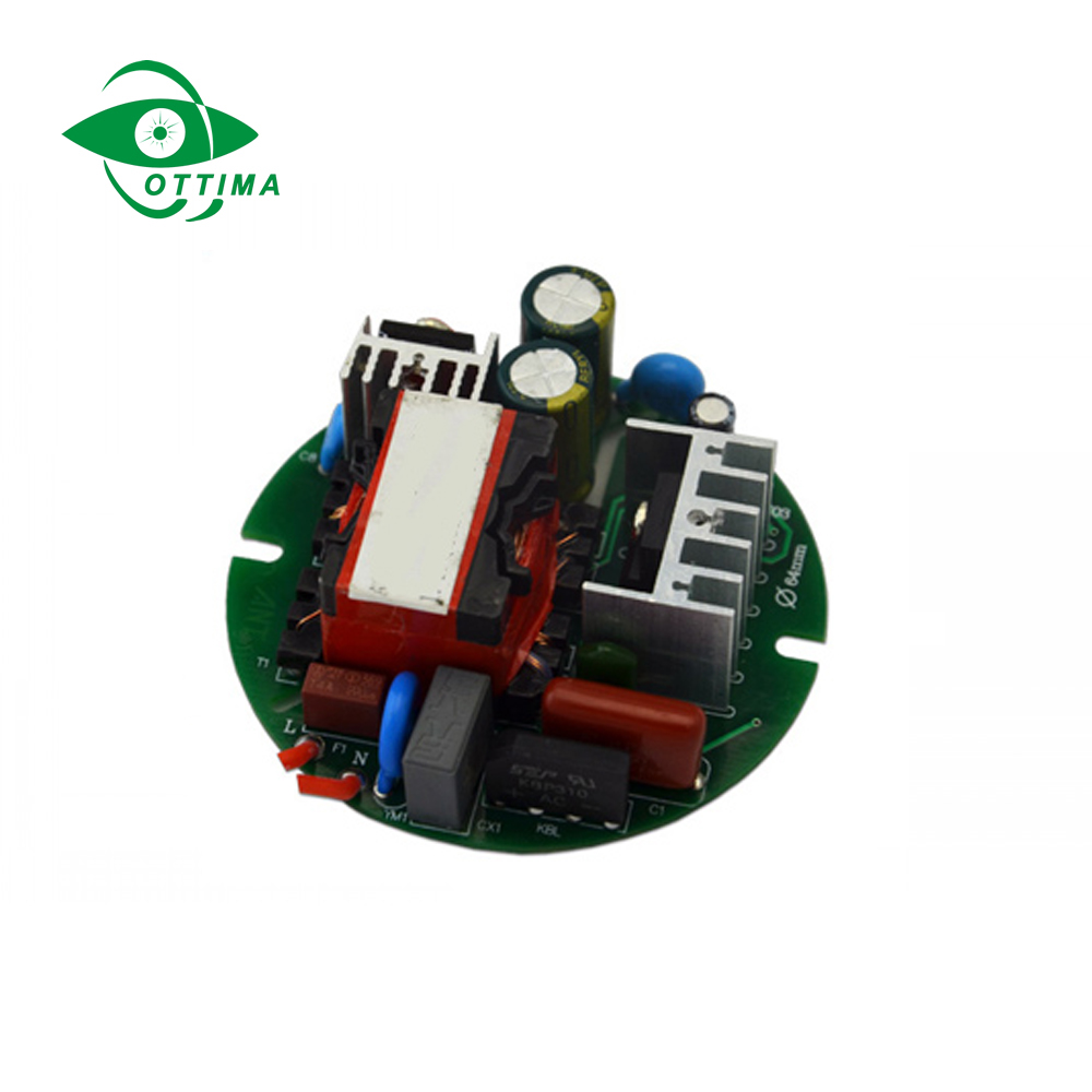 Led Corn Light Constant current 3 year warranty 2100ma 70w led driver with high efficiency and PF0.9 Round Shape led driver