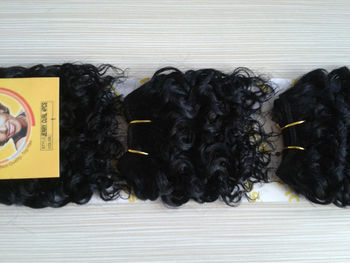 Very Cheap MISS ROLA JERRY CURLY 4pcs African Human Hair Extension Top Selling In African And Amercian