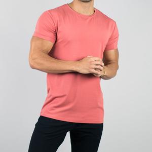 CHA036 Premium Crew neck Custom Tee Men's Fitess T Shirt OEM Manufacturer