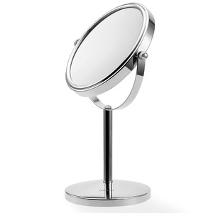 Countertop compact makeup cosmetic 10X magnifying mirror