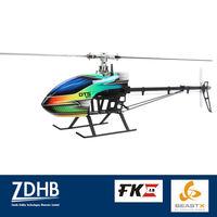 DTS 600 Carbon Fiber Main Blades 3-axis Gyro MICROBEAST FUN KEY RC Helicopter