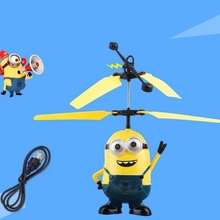 H-Quality Helicopter Flying Minion Drone Light Aircraft